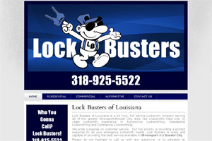 Website Development Lock Busters LA